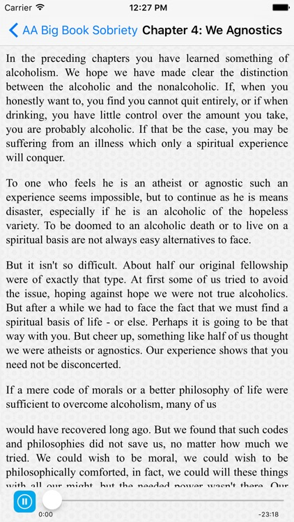 AA Big Book Sobriety screenshot-3