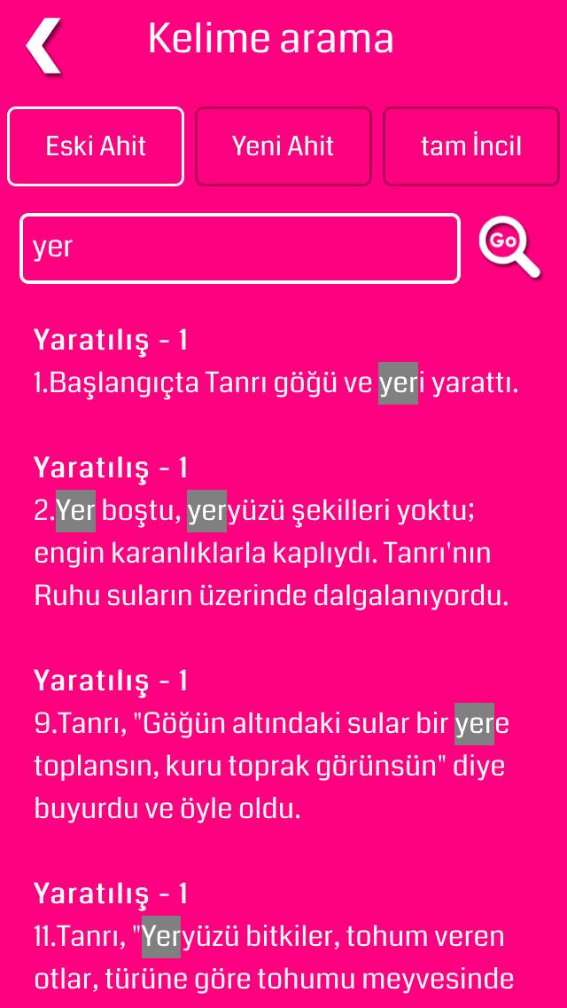 Turkish Bible screenshot four