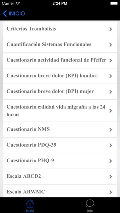 NeuroScores screenshot three