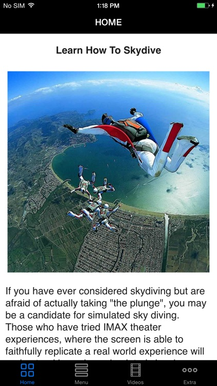 Easy SkyDive - Best Skydiving Lessons Videos For Beginners screenshot-0
