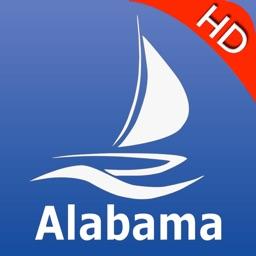Alabama GPS Nautical charts pro