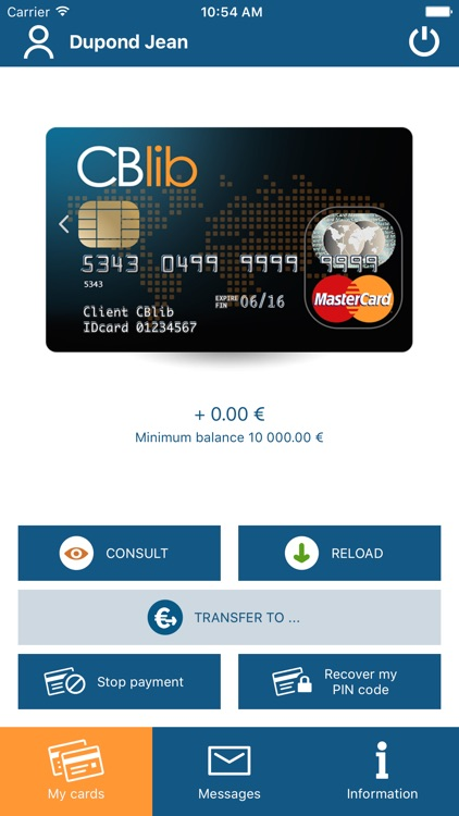 CBlib - Manage your cards screenshot-1