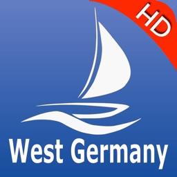 Germany West GPS Nautical charts pro