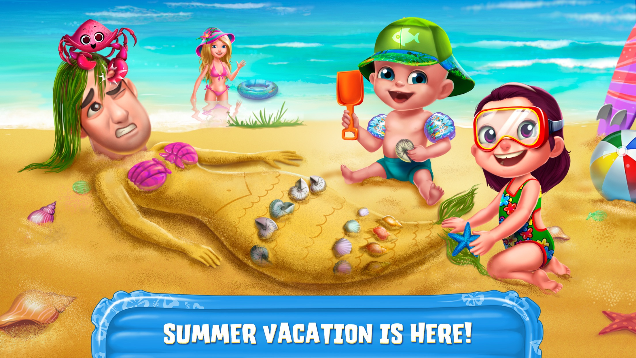 Summer Vacation - Fun at the Beach Screenshot