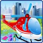 Helicopter Wash Salon Cleaning & Washing Simulator icon