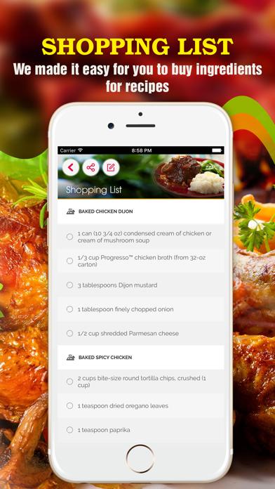 Yum Chicken ~ Best Healthy Chicken Recipes screenshot three
