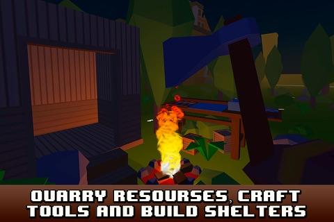 Pixel City Survival Simulator 3D Full screenshot 3