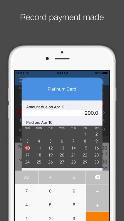 Card Due - Credit Card Bill Tracker