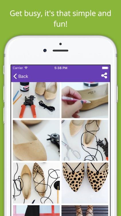 DIY Fashion Project Ideas PRO - Handmade crafts screenshot-4