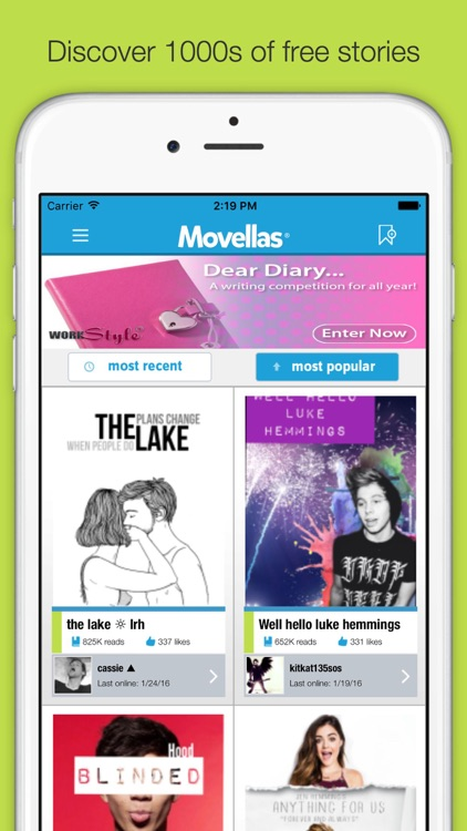 Movellas - Best Stories and Fanfiction