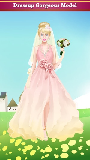 Hollywood princess wedding salon : spa, makeup, dress up and ...
