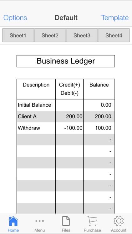 Business Ledger