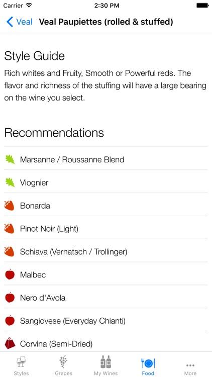 Pocket Wine Pairing app image