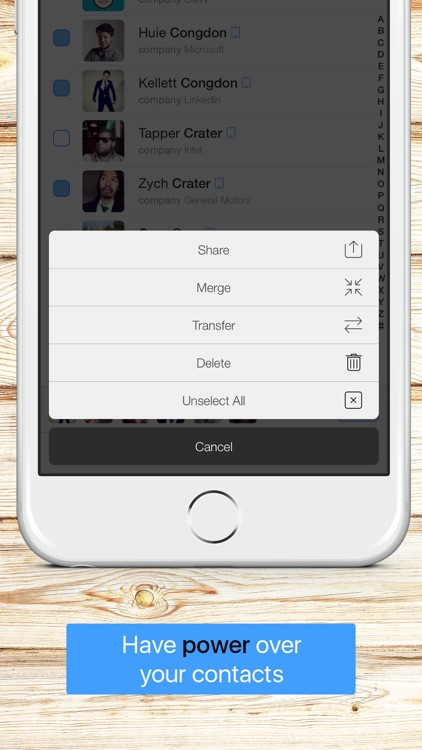 BeauContact - Toolbox for your contacts screenshot-3