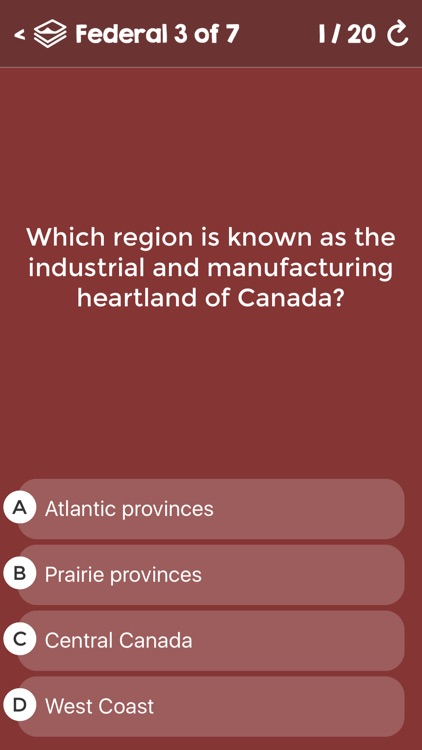 Canadian Citizenship Test Questions - Federal & Provincial Exams - Alberta, British Columbia, Manitoba, Ontario, Quebec