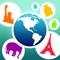 App Icon for Pesa el mundo App in El Salvador IOS App Store