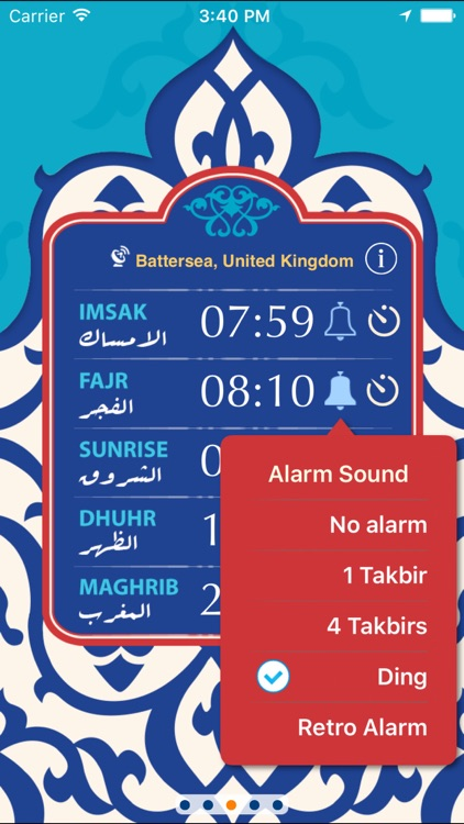 Qibla & Prayer Times screenshot-0