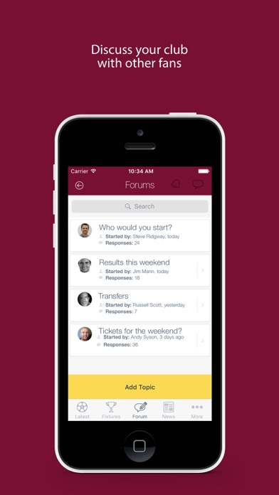 Fan App for Batley Bulldogs