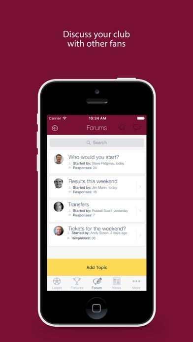 Fan App for Batley Bulldogs screenshot one