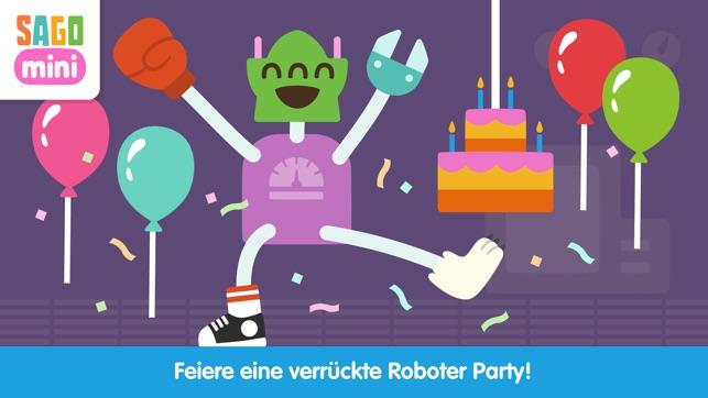 Sago Mini Roboter Party Screenshot