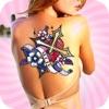 纹身设计美丽制造商身体自己