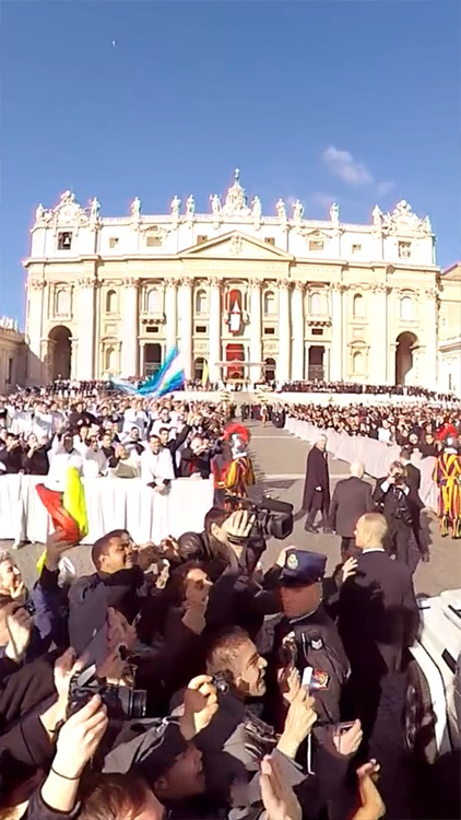 VR Virtual Reality press360 Papal inauguration of Pope Francis screenshot-3