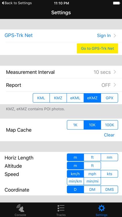 GPS-Trk 3 screenshot-4