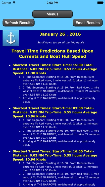 East Coast Trip Planner using Tidal Currents + Tides screenshot-4