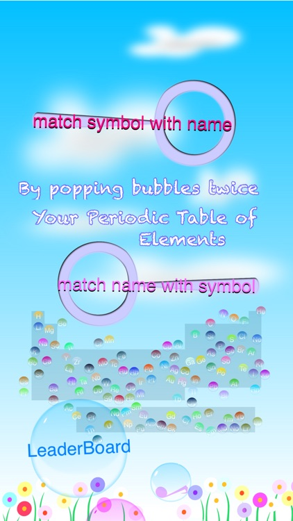 Periodic Table of Elements Bubble Pop Free screenshot-3