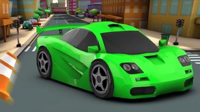 3D 楽しいレースゲーム 最高の車ゲーム 無料の高速レースのおすすめ画像1
