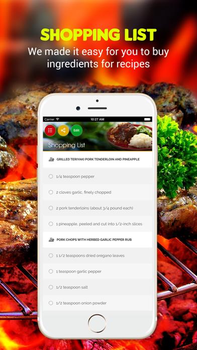Yummy Grill Recipes screenshot three