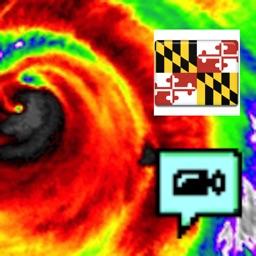 Maryland/Baltimore NOAA Radar with Traffic Cameras 3D Pro
