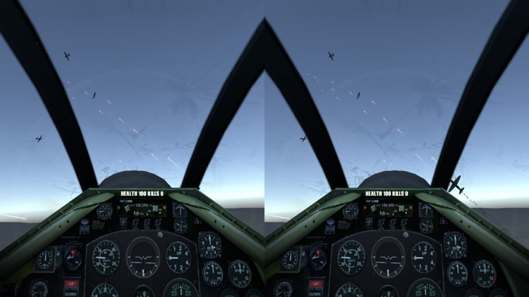 VR Flight Simulator for Google Cardboard screenshot-3