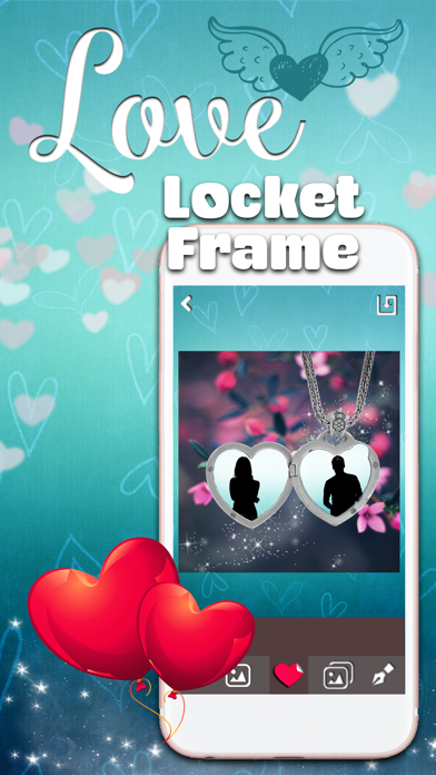 Locket Frames for Love Pics – Filter Your Romantic Photos