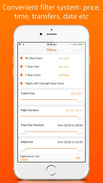 Cheap Flights OK! Quick and easy search of plane tickets. screenshot-3