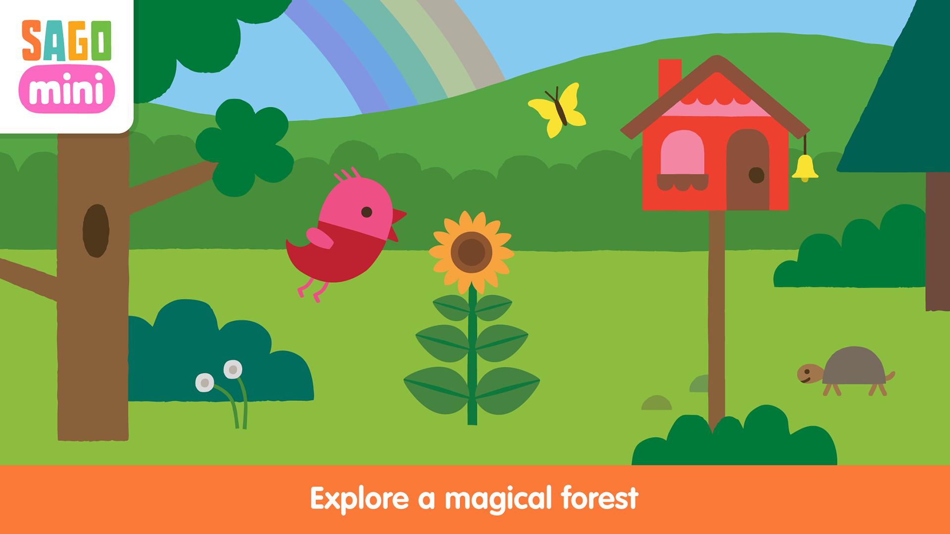 Sago Mini Forest Flyer TV screenshot 1