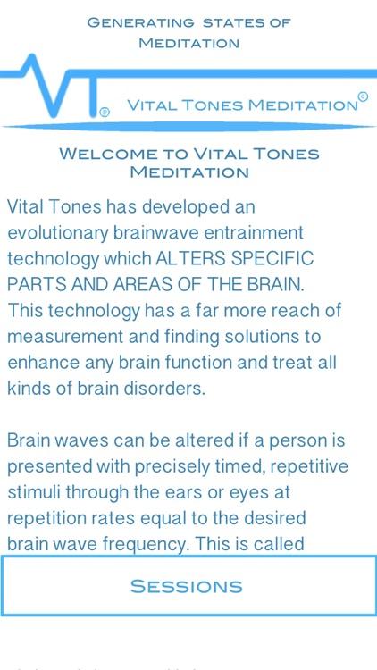 Vital Tones Meditation Pro