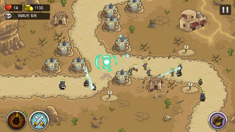 Defense of Kingdom: HomeWorld Defend of Field Battle Defense Game screenshot-3