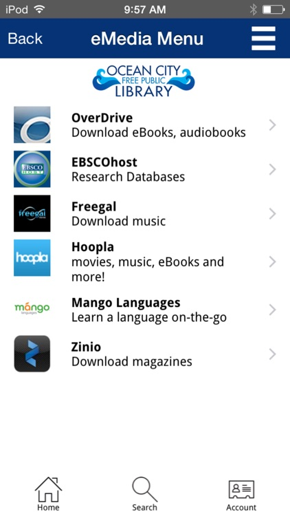 OC Library Mobile screenshot-4
