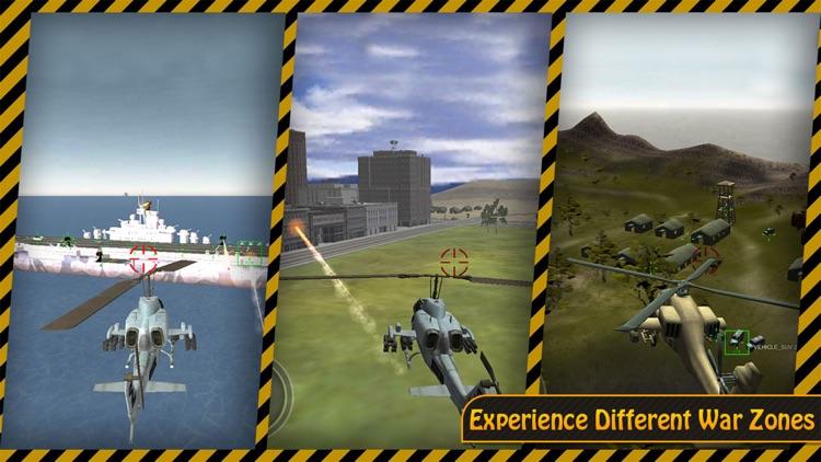Gunship Heli Warfare Battle Game free screenshot-3