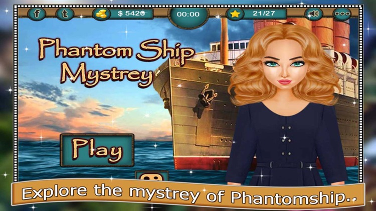 Phantom Ship - The Mystery of Hidden Objects