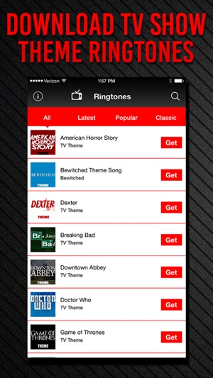 TV Show Themes Ringtones on the App Store