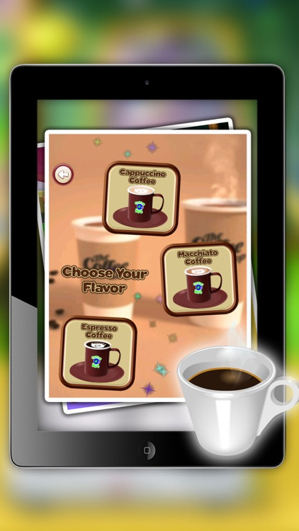 iCe & hot Coffee maker - Make creamy dessert in this cooking fever game for kids screenshot-4