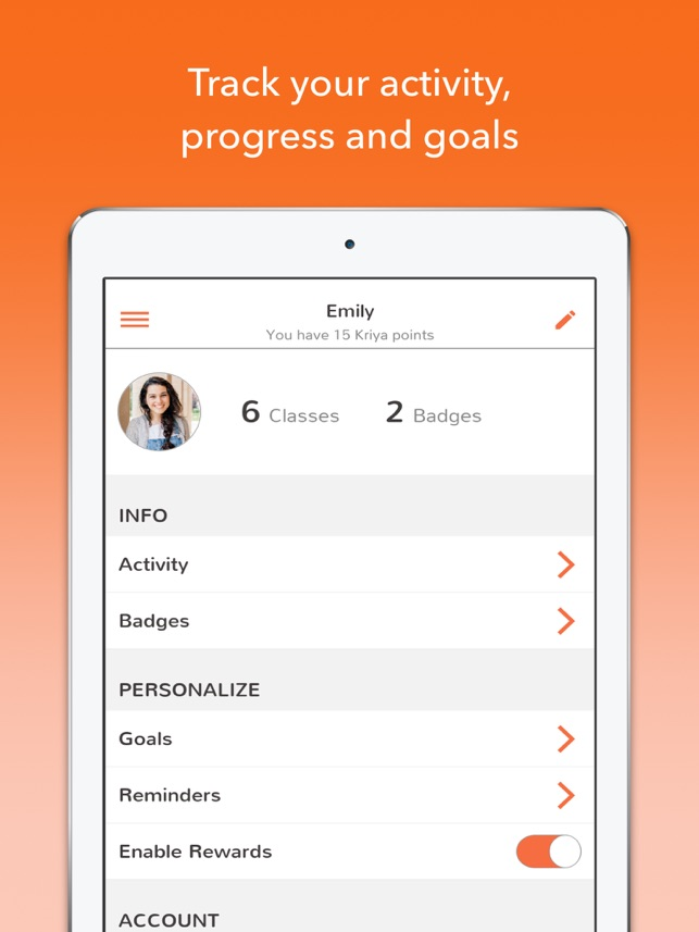 Track Yoga – For Flexibility, Weight Loss & Stress Screenshot