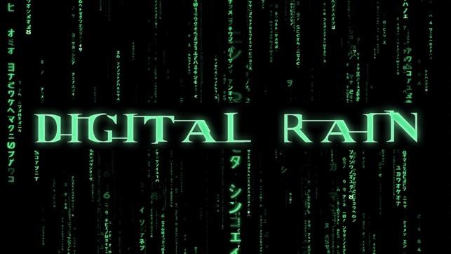 Digital Rain - The code flow on the App Store