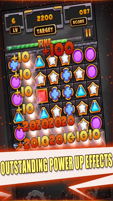 Jewels Link Puzzle screenshot two