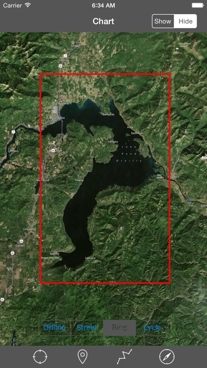 Lake Pend Oreille (Idaho) – Raster Nautical Charts