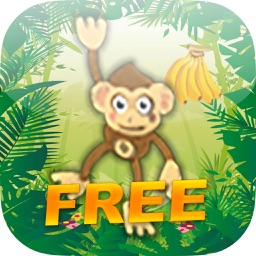 SeeSaw Monkey FREE - Jump For Bananas In The Jungle