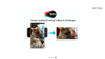 ReVu Video Editor - Record Zoom and Pan Interactions to Make a New Video screenshot four