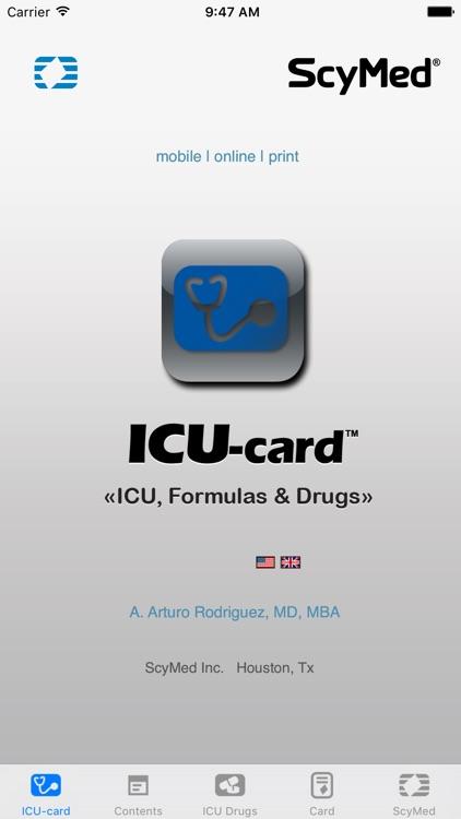 ICU-card